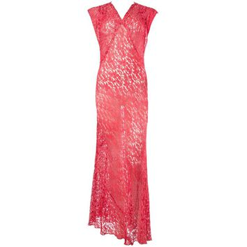 1930s Bias Lace Gown