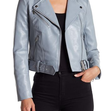 VERO MODA | Faux Leather Moto Jacket | Nordstrom Rack