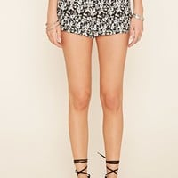 Floral Print Woven Shorts