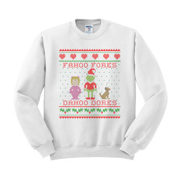 Grinch Welcome Christmas Crewneck Sweatshirt