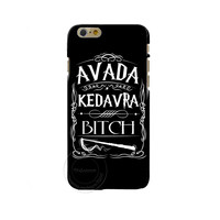 Avada Kedavra Bitch shirt for Harry Potter Design phone cover cases For Apple iphone 4 4S 5 5S 5C 6 6s 6SPlus Hard Shell