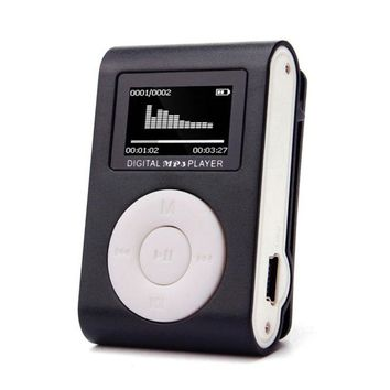 High Quality mini Clip MP3 Player Support 32GB Micro TF/SD Card Slot Sports MP3 Music Player With Screen Portable Gife