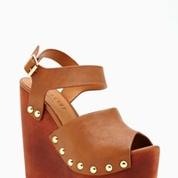 Shoe Cult Summer Behavior Wedge - Tan