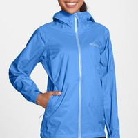 Women's Columbia 'EvaPOURation' Modern Classic Fit Packable Waterproof Rain Jacket,
