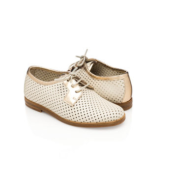 Lesly Derby Vanilla Gold for Kids - Made in Italy
