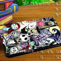 The Nightmare Before Chriistmas For iphone 4 iphone 5 samsung galaxy s4 / s3 / s2 Case Or Cover Phone.