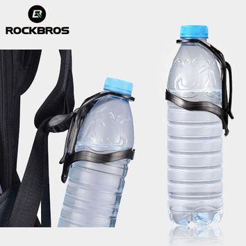 ROCKBROS Hiking Bag Water Bottle Cup Holder Multi Outdoor Gadgets Camping Climbing Backpack Bottle Cage Base Cycing Accessories