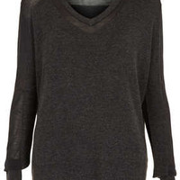 Knitted Sheer Solid Jumper - New In This Week  - New In
