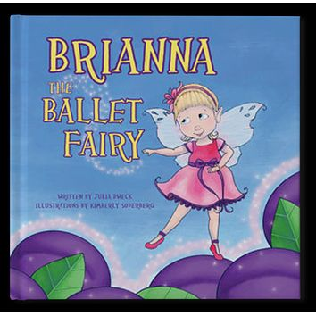 The Ballet Fairy Personalized Storybook - Soft Cover