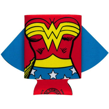 Wonder Woman - Uniform Caped Can Coolor