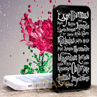 Harry Potter Magic spells Hard cover plastic for iphone 4, iphone 5, samsung s3 i 9300, samsung s4 i 9500
