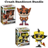 Crash Bandicoot Funko Pop! Games Bundle