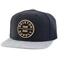 Brixton Oath III Snapback - Men's at CCS