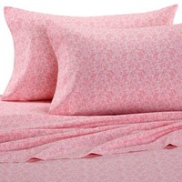 Betsey Johnson® Punk Princess Sheet Set in Pink