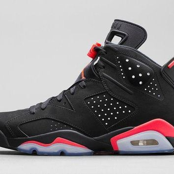 DCCK Air Jordan Retro 6 'Black Infrared'