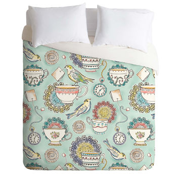 Heather Dutton Tea Time Duvet Cover
