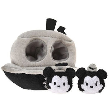 Mametsumu & House set TSUM TSUM ( Tsumutsumu ) steamboat Mickey & Minnie
