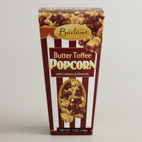 Bartons Butter Toffee Popcorn with Cashews & Almonds | World Market