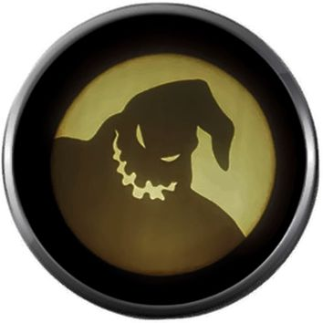 Oogie Boogie Shadow Halloween Town Nightmare Before Christmas Jack Skellington 18MM - 20MM Charm for Snap Jewelry New Item