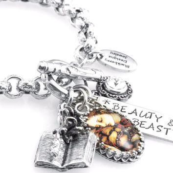 Beauty and the Beast Charm Bracelet