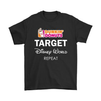 KUYOU Dunkin' Donuts Target Disney World Repeat Shirts