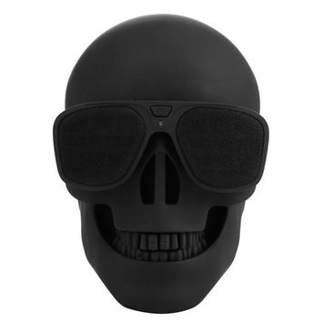 Skull Wireless Bluetooth Speaker Sunglass With Subwoofer