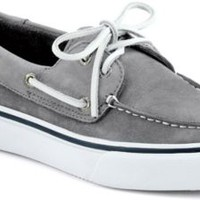 Sperry Top-Sider Bahama Washable 2-Eye Boat Shoe GrayWashableNubuck, Size 11.5M  Men's Shoes