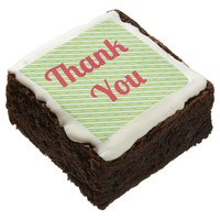 """Thank You"" Brownie"