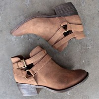 bc footwear communal cut out ankle bootie (more colors)