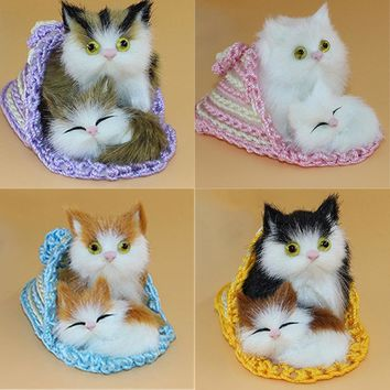 Kitten Plush Dolls soft Cats Toys