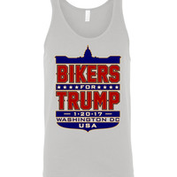 Bikers for Trump Full Shield Unisex Tank