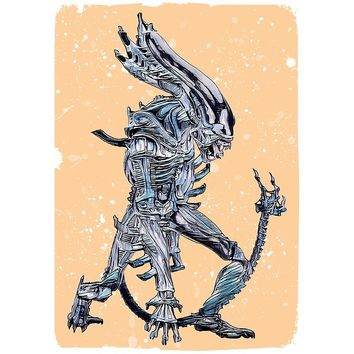 'Xenomorph' Photographic Print by Naumovski