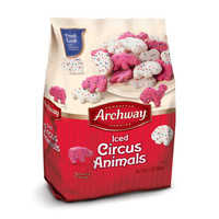 Archway  Iced Circus Animals Cookies, 12 Ounce