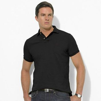 Men's Fashion Cotton Men Short Sleeve Tops [10775755139]