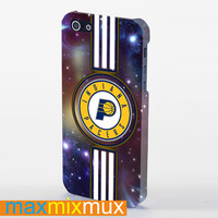 Indiana Pacers Galaxy iPhone 4/4S, 5/5S, 5C Series Full Wrap Case