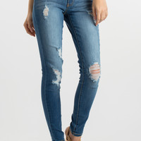 Mae Medium Wash High Waisted Jeans