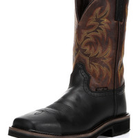 Men's Black Oiled Composite Toe Boot - WK4818