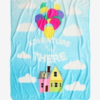 Disney Pixar Up Adventure Is Out There Throw Blanket