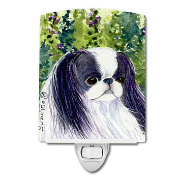 Japanese Chin Ceramic Night Light SS8730CNL