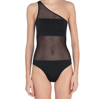 Norma Kamali One-shoulder swimsuit