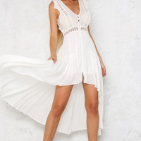 Lolita Love Maxi Dress White