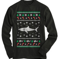 Shark Ugly Christmas Sweater