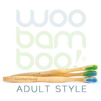 2Pack - Bamboo Toothbrushes