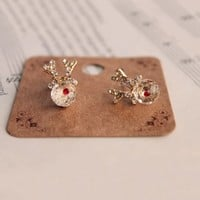 MochiThings: Rudolph Earring Set