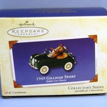 2003 Gillham 1949 Sport Hallmark Retired Series Ornament