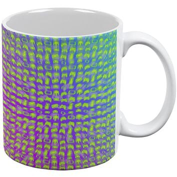 Choose your Weapon Wisely Pattern Video Games All Over Coffee Mug