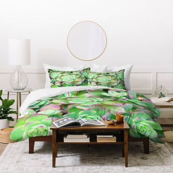 Lisa Argyropoulos Succulents Color Duvet Cover