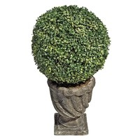 SheilaShrubs.com: The Topiary Tree Collection - Large Ball SE11156 by Design Toscano: Topiary