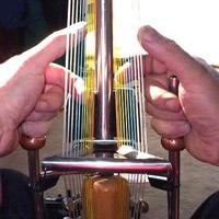 GRAVIKORD Double Harp ElectroAcoustic Kora by NewMuse on Etsy