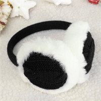 Women Winter Earmuffs Earwarmers Ear Muffs Earlap Warmer Headband